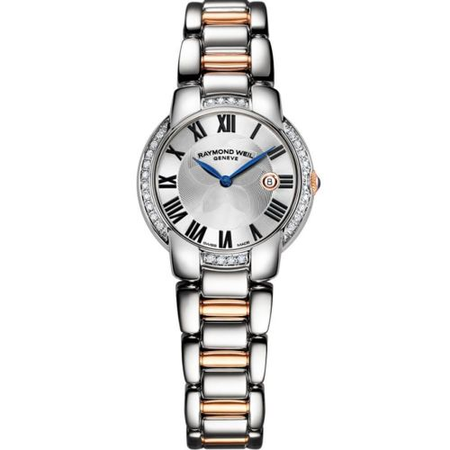 RAYMOND WEIL Jasmine Gold & Diamond Ladies Watch 5229-S5S-01659